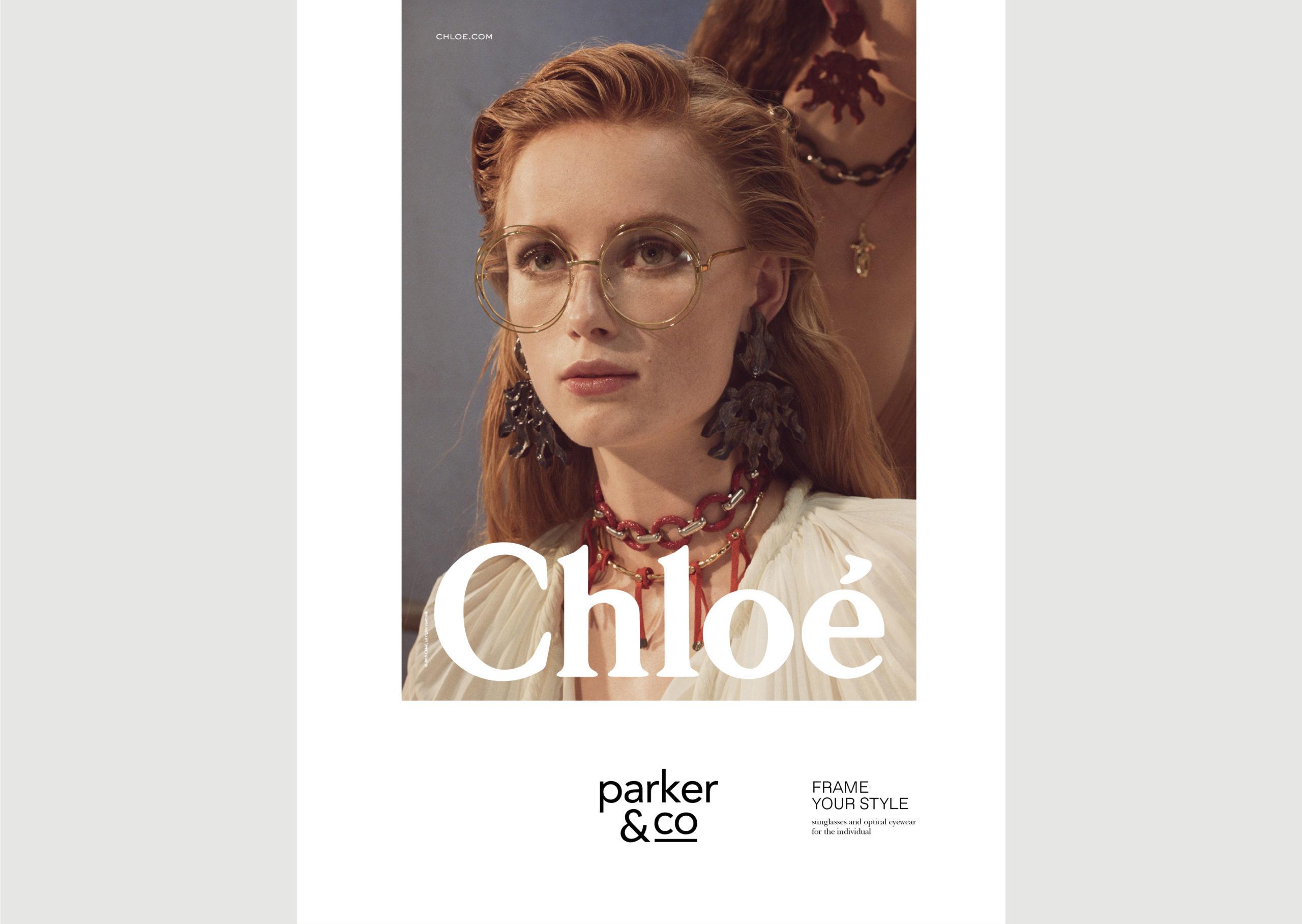 Parker and Co Eyewear – Denizen Ad – featuring Chloe 2019