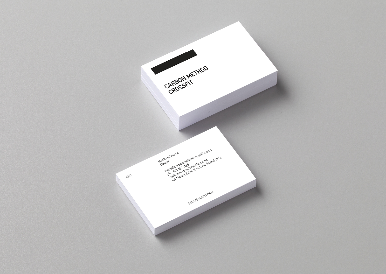 Carbon Method Crossfit Business Card