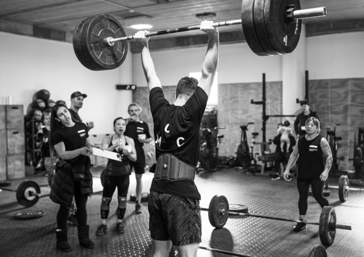 Brand Launch at Carbon Method CrossFit Branding Identity Weight lifting team class