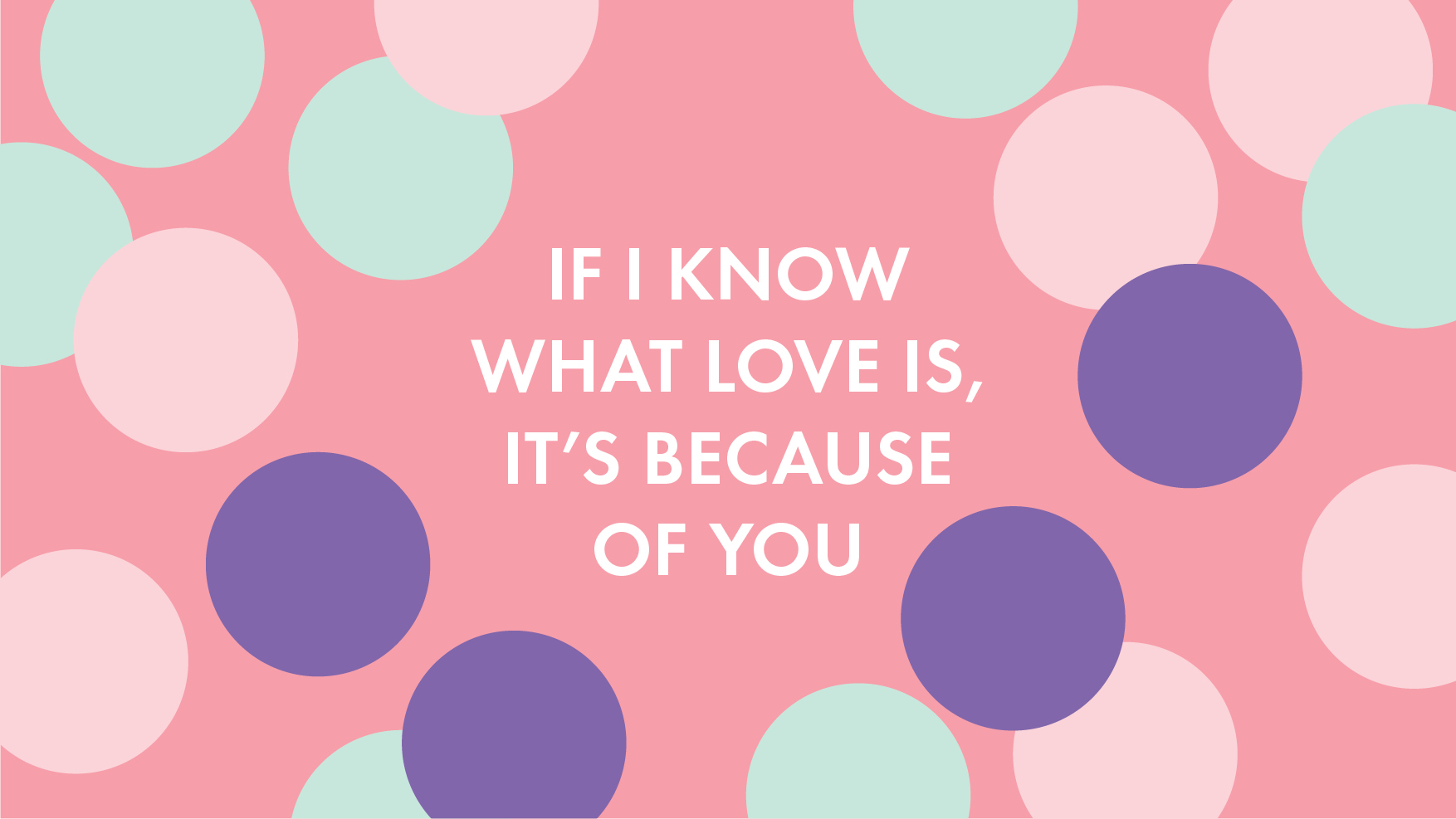 If I know what love is it's because of you – Sylvia Park Mother's Day retail activation photo booth theme 2021